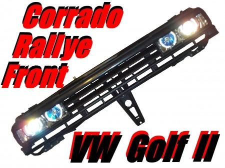 Rallye Corrado Klarglas Front für VW Golf 2